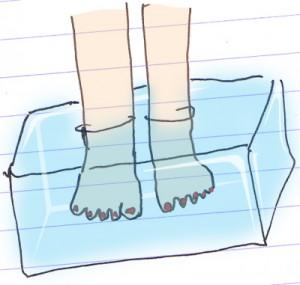 как парить ноги_картинки