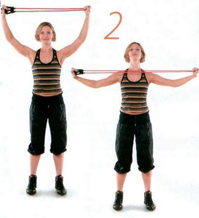 как убрать жир с лопаток упражнения