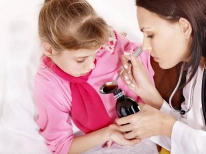 Першение горла  у ребенка