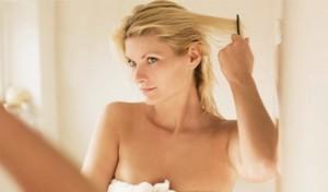 Воздействие краски на волосы