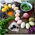 Как подобрать натуральные красители для яиц на Пасху