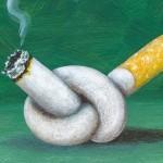 <b>Не вдыхайте, не курите! И поможет в этом литий</b>